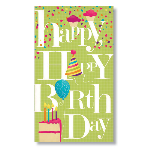 Celebration Birthday Cards From HRdirect