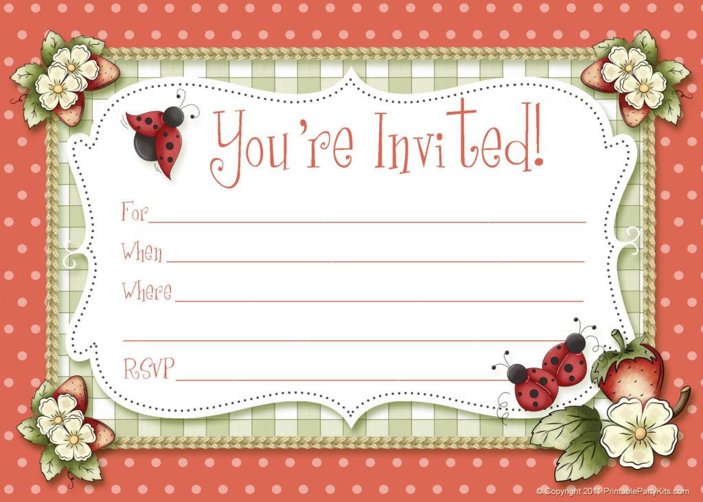 Custom Birthday Invitation Birthday Invitation Maker