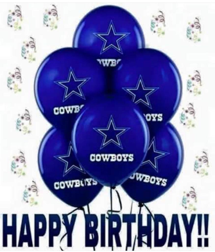 Dallas Cowboys Clipart Birthday Card Dallas Cowboys