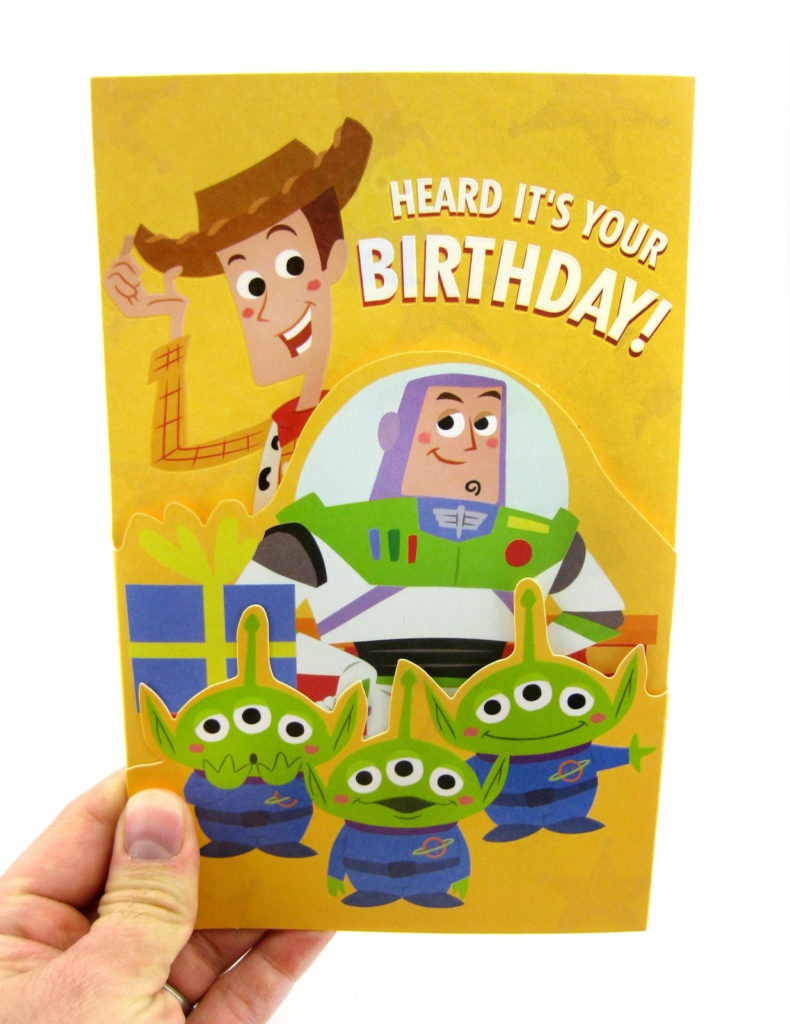Dan The Pixar Fan Toy Story Birthday Card Target 2016
