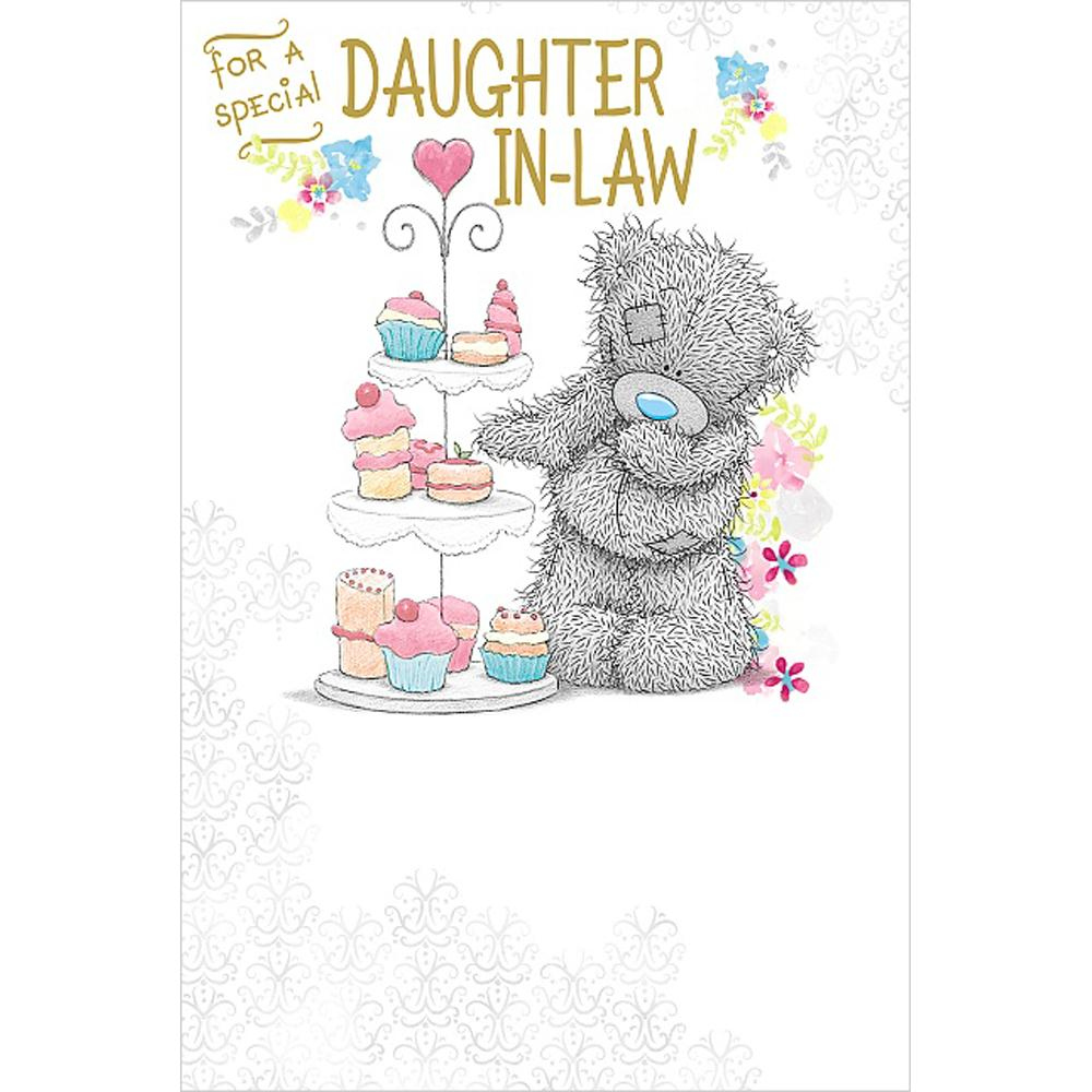 Daughter In Law Birthday Me To You Bear Card A01MS319