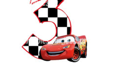 Disney Cars Birthday Card Printable