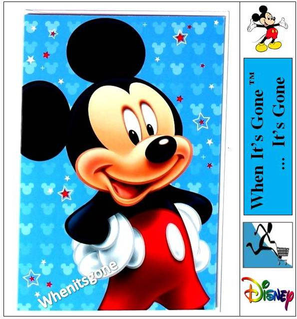 Disney Cartoon Character CARDS WRAPPING PAPER STATIONERY