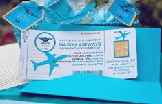 Airplane Birthday Card Printable