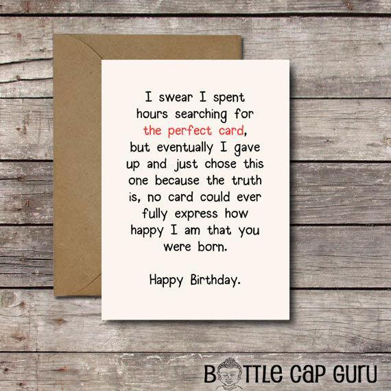 Download THE PERFECT CARD Romantic Birthday By BottleCapGuru