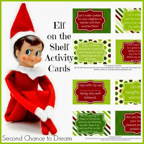 Elf On The Shelf Cards With A Twist Printable Multi