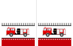 Free Printable Firefighter Birthday Cards