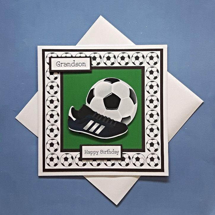 Football Card Grandson Cards Boy Cards Masculine Cards
