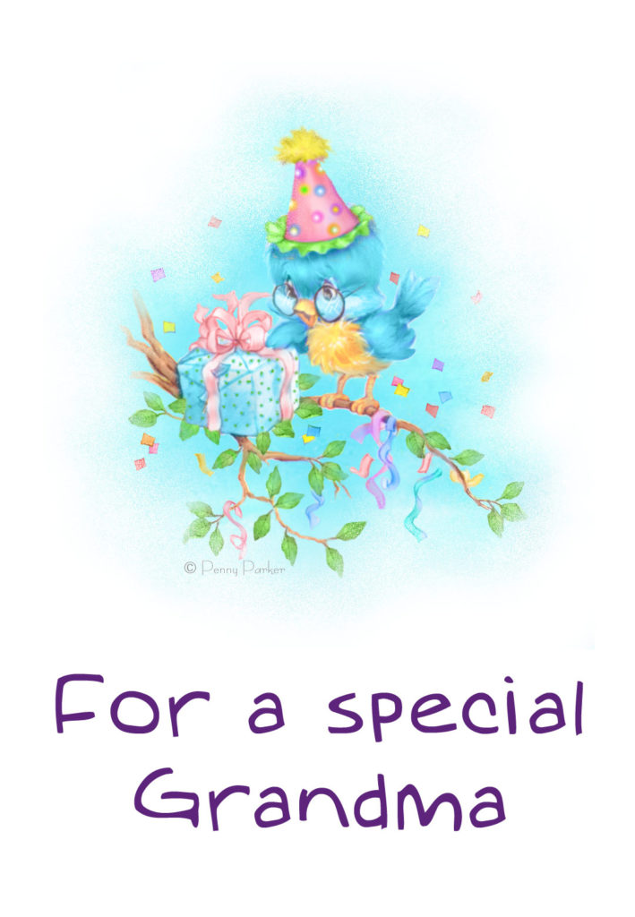 For A Special Grandma Birthday Card Free Greetings