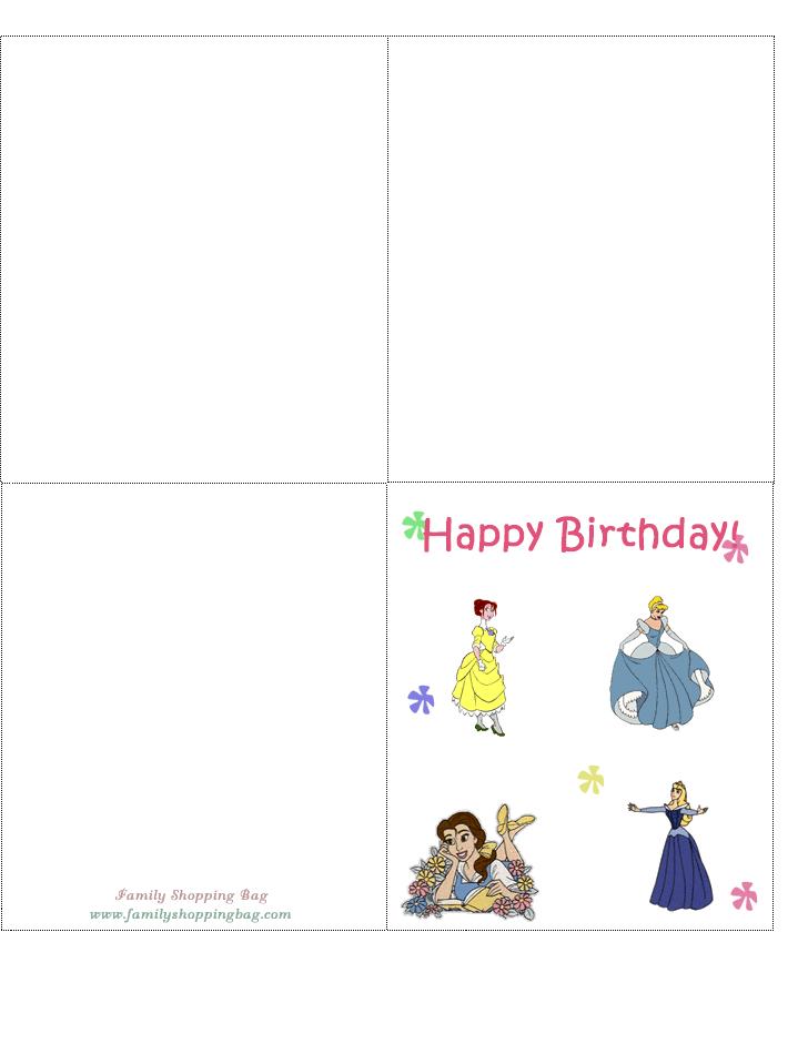 Free Birthday Cards Printable
