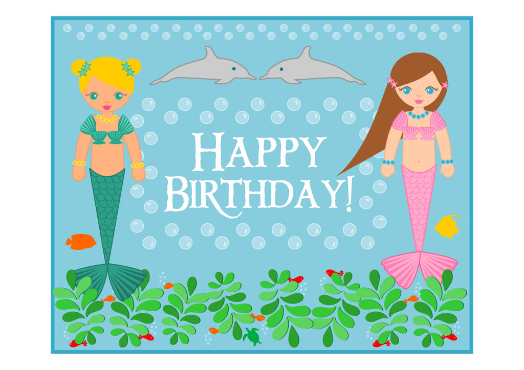 FREE Mermaid Birthday Party Printables Catch My Party