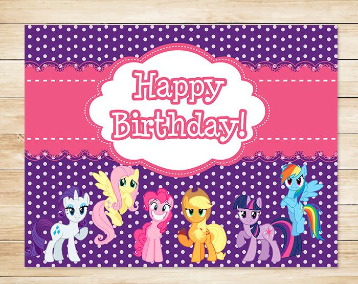 Free My Little Pony Printables