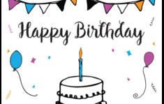 Printable Birthday Cards Pdf