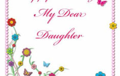 Free Printable Birthday Cards For Daughter