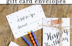 Free Printable Birthday Card And Envelope