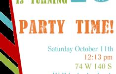 Boy Birthday Invitation Cards Free Printable