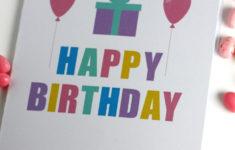 Bts Birthday Card Printable Free