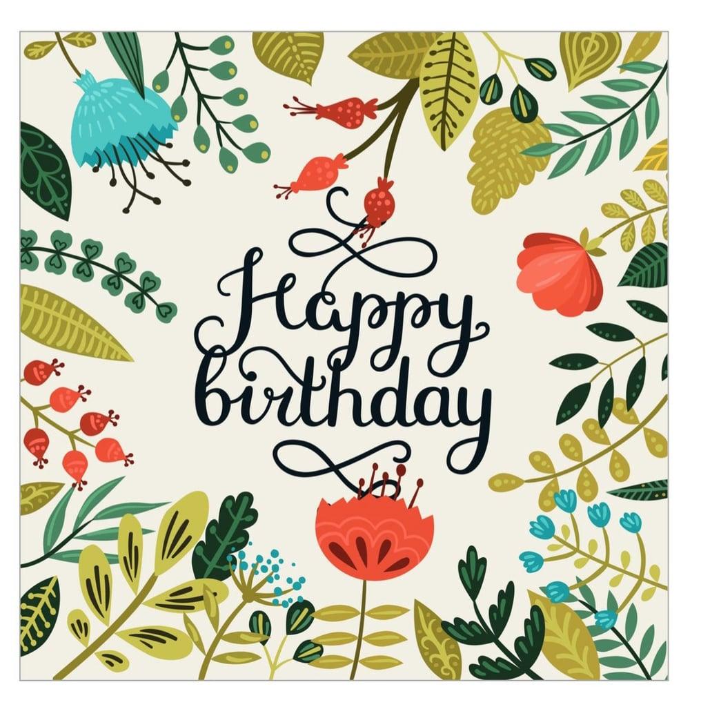 Free Printable Cards For Birthdays POPSUGAR Smart Living