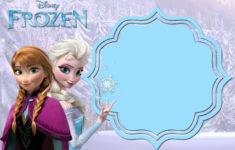 Frozen 2 Printable Birthday Invitations