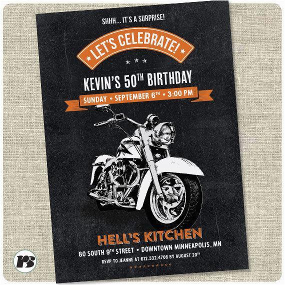 Free Printable Harley Davidson Birthday Cards Motorcycle