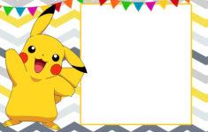 Pokemon Birthday Card Printable Free