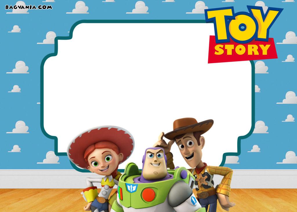 Free Printable Toy Story Birthday Invitations FREE