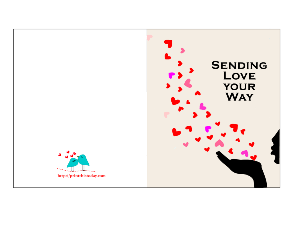 Free Printable Valentine Cards For Him