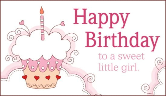 Free Sweet Girl ECard EMail Free Personalized Birthday