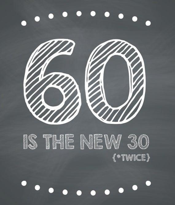 Funny 60th Birthday Card Printable