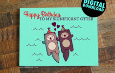 Printable Birthday Cards Girlfriend