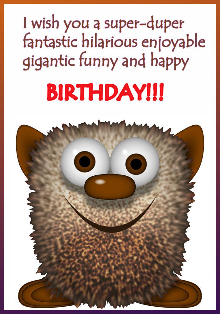 Funny Printable Birthday Cards