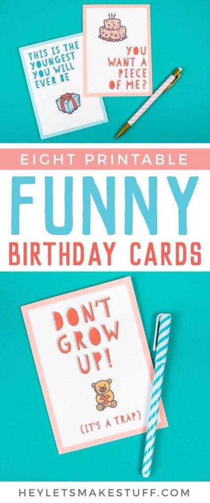 Funny Printable Birthday Cards Funny Printable Birthday