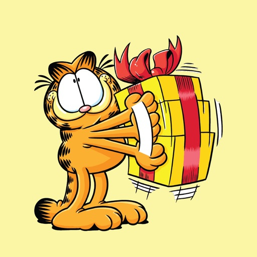 Garfield s Animated Birthday Card Stickers By Bare Tree