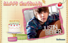 Giant Star Justin Bieber His Birthday Is Coming