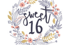 16th Birthday Cards Free Printable
