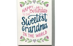 Printable Birthday Cards Grandma