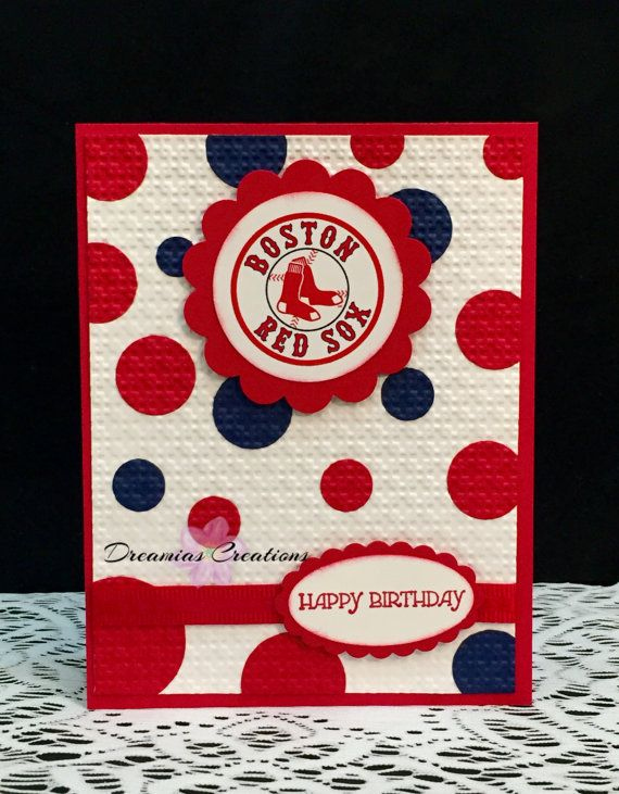 Great Card For Any Boston Red Sox Fan By