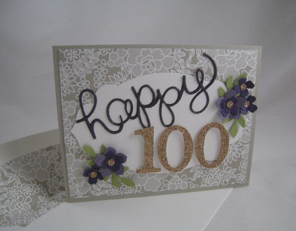 Happy 100th Birthday StampinU