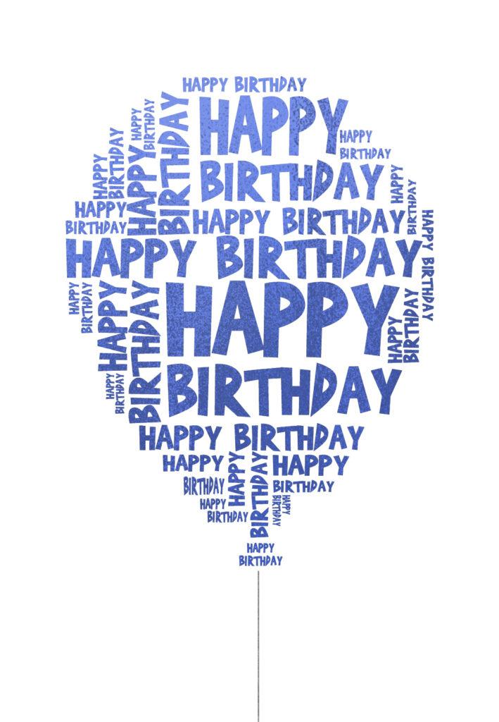 Happy Birthday Balloon Birthday Card Free Greetings