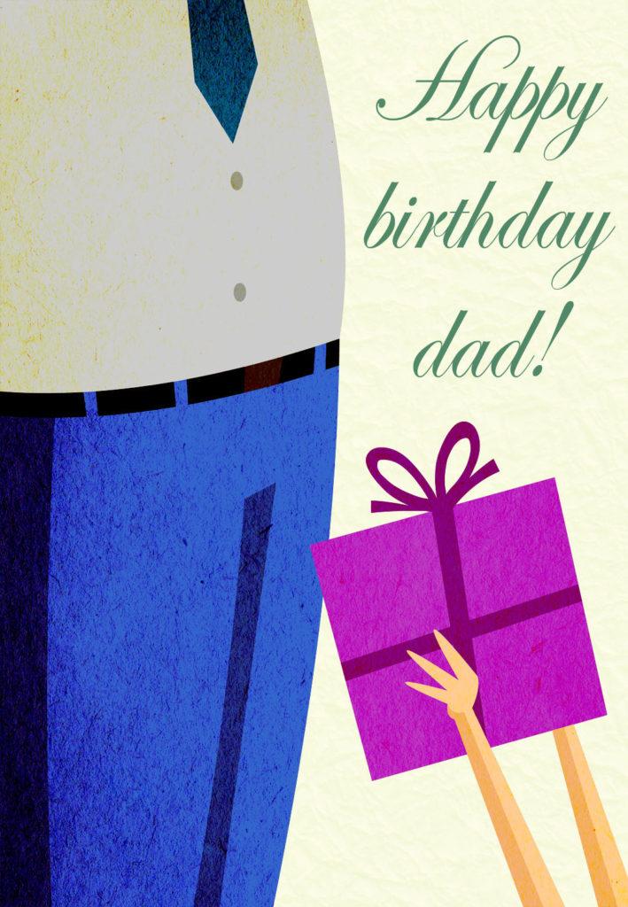 Happy Birthday Dad Free Birthday Card Greetings Island