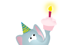 Printable Birthday Cards With Elephants
