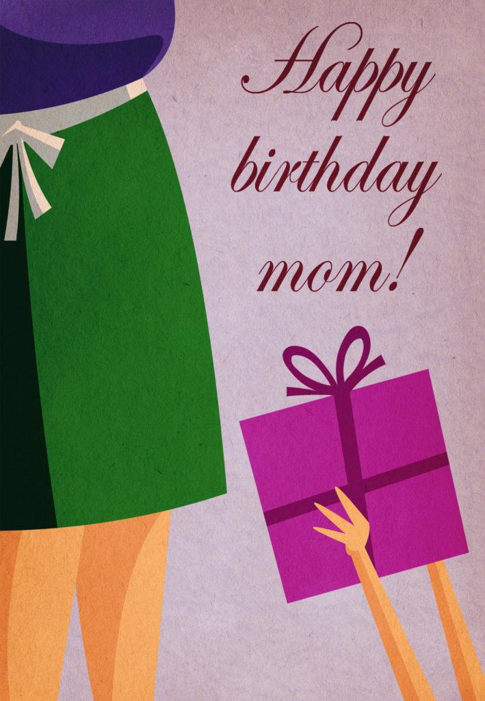 Happy Birthday Mom Free Birthday Card Greetings Island