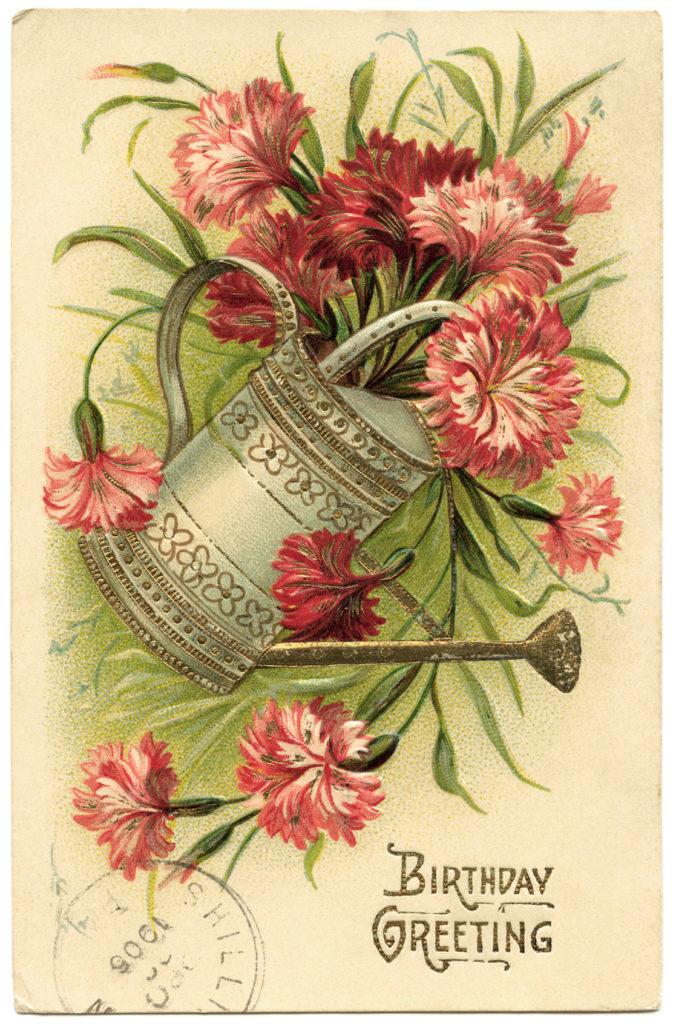 Happy Birthday On Pinterest Vintage Birthday Cards