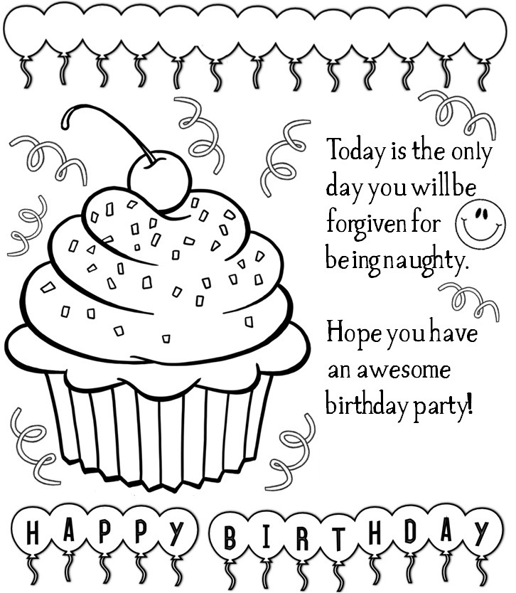 Happy Birthday Teacher Coloring Pages At GetColorings
