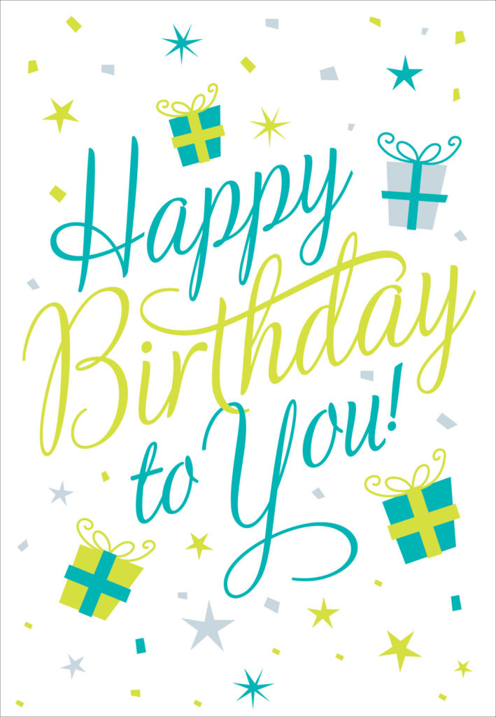 Happy Birthday To You Birthday Card Greetings Island