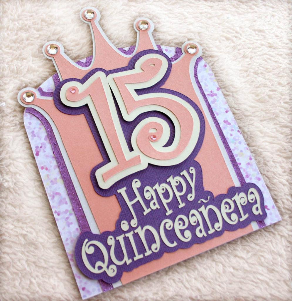 Happy Quincea era Birthday Card