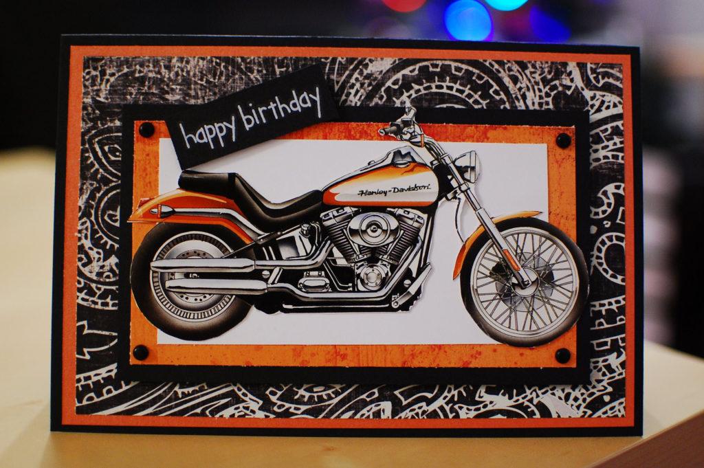 Harley Davidson Birthday Card Birthday Cards For Men