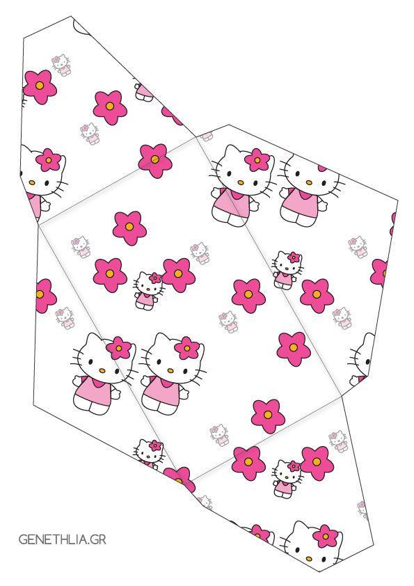 Hello Kitty Envelope Free Printable Kids Activities