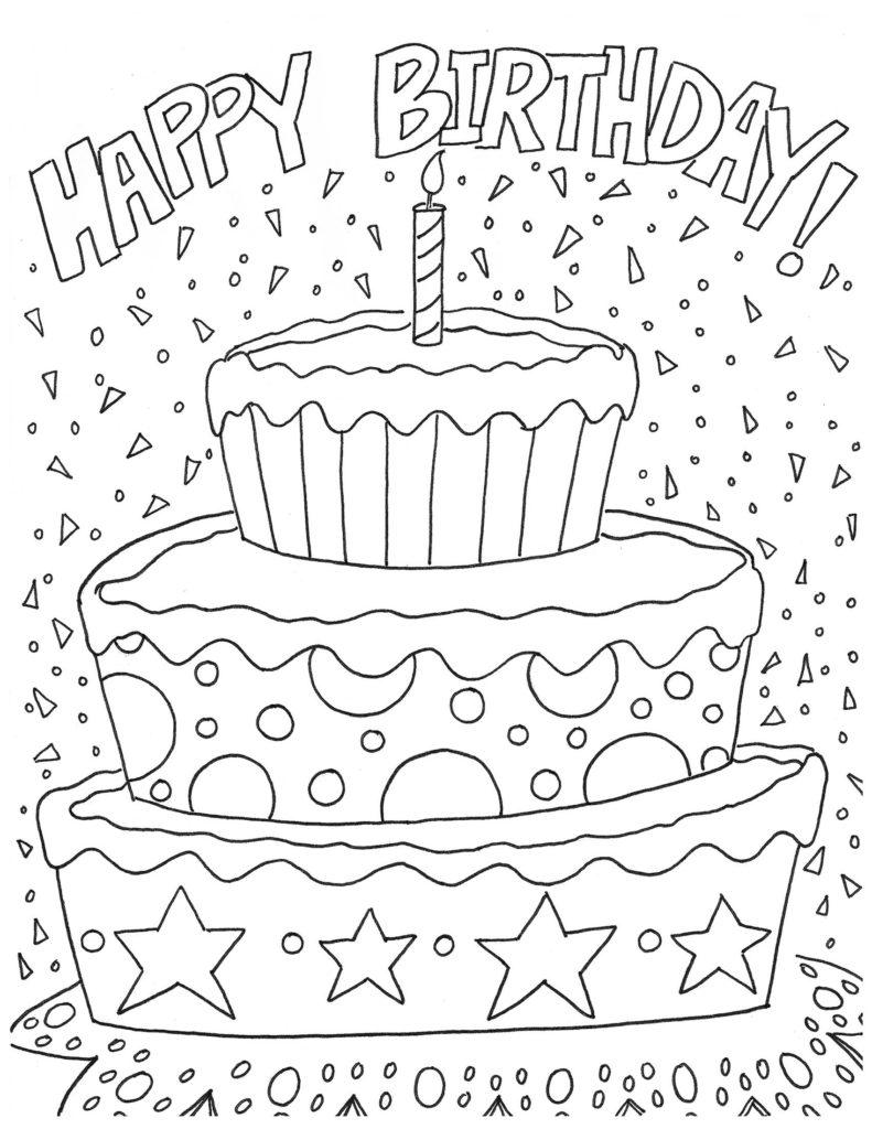 Hersheys Birthday Coloring Page jpg 1700 2200 Happy