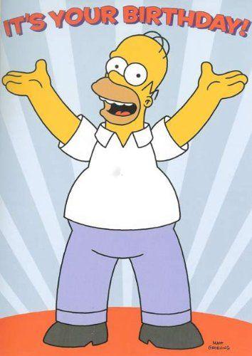 Homer Simpson Birthday Ecards Homer Simpson Birthday
